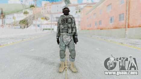 Acu Soldier 4 para GTA San Andreas segunda pantalla