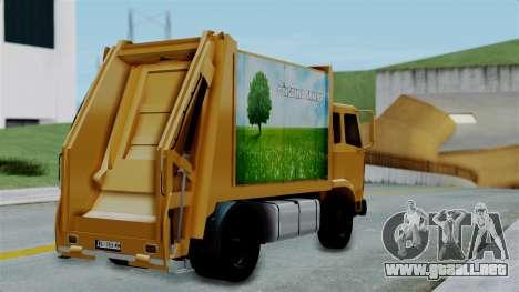 FAP Đubretarski Truck para GTA San Andreas left