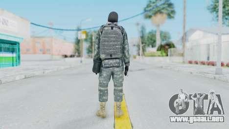 Acu Soldier 3 para GTA San Andreas tercera pantalla