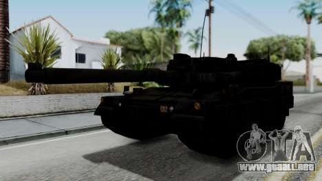 Point Blank Black Panther Woodland IVF para GTA San Andreas vista posterior izquierda