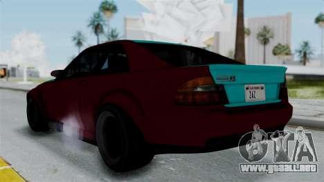 GTA 5 Karin Sultan RS Stock para GTA San Andreas left