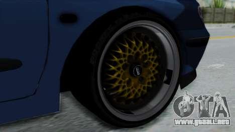 Renault Megane Stance para GTA San Andreas vista posterior izquierda