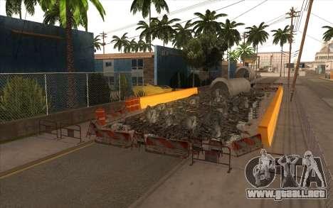 El trabajo de reparación de la Calle Grove para GTA San Andreas