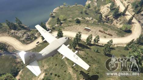 GTA 5 Amphibious Plane octavo captura de pantalla