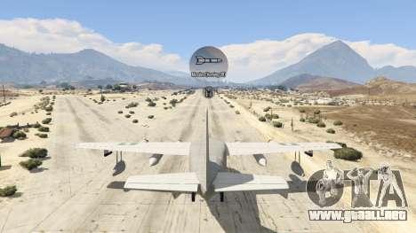 GTA 5 Amphibious Plane décima captura de pantalla
