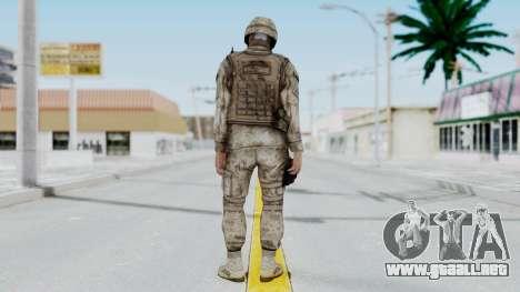 Crysis 2 US Soldier 9 Bodygroup A para GTA San Andreas tercera pantalla