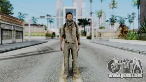 Uncharted 3 - Nathan Drake Desert Outfit para GTA San Andreas segunda pantalla