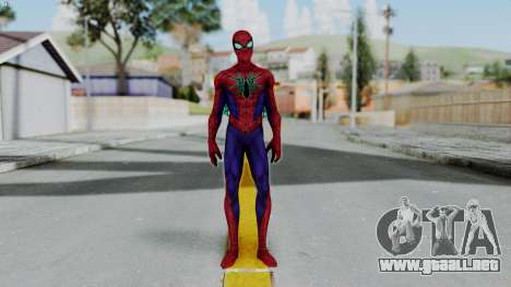 Marvel Future Fight Spider Man All New v2 para GTA San Andreas segunda pantalla