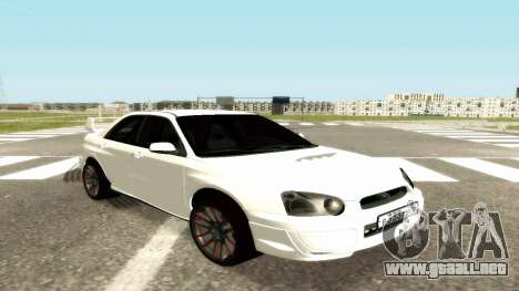 Subaru Impreza WRX STi Civil para GTA San Andreas