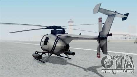 Makarovs Private MD-500 para GTA San Andreas left
