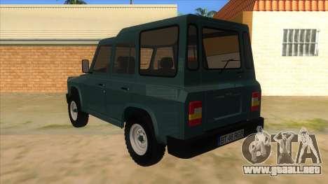 Aro 246 (1996) para GTA San Andreas vista posterior izquierda