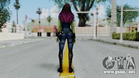 Marvel Future Fight - Gamora para GTA San Andreas tercera pantalla