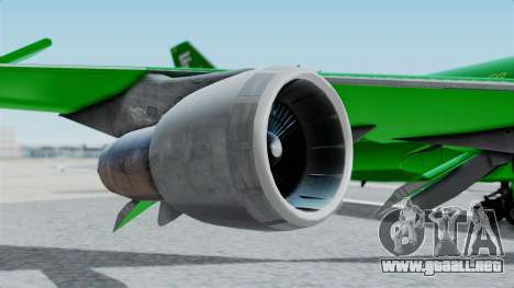 Boeing 747-100 Grove Street para la visión correcta GTA San Andreas