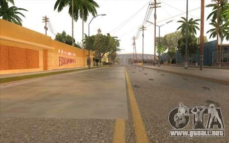 El trabajo de reparación de la Calle Grove para GTA San Andreas twelth pantalla