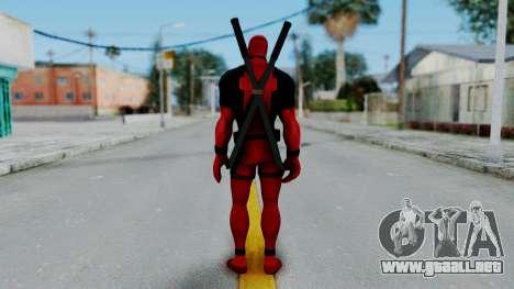 Marvel Heroes - Deadpool para GTA San Andreas tercera pantalla