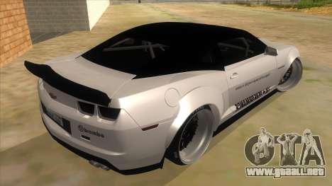2012 Chevrolet Camaro ZL1 Liberty Walk para la visión correcta GTA San Andreas