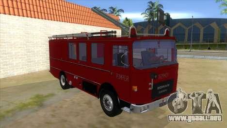 Roman 8135 FA para GTA San Andreas vista hacia atrás