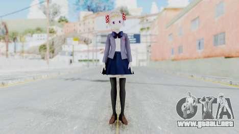Sakura Chiyo (Gekkan Shoujo) para GTA San Andreas segunda pantalla