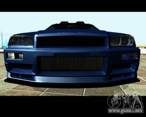 Nissan Stagea Tunable para vista inferior GTA San Andreas