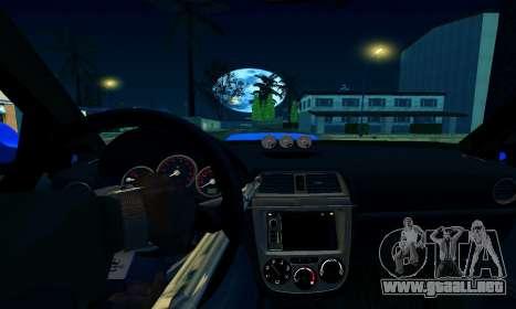 Subaru Impreza WRX STi Wagon 2003 para vista inferior GTA San Andreas