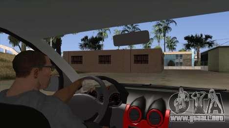 Dacia Logan para visión interna GTA San Andreas