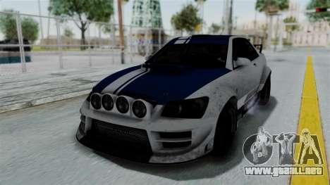 GTA 5 Karin Sultan RS Rally PJ para las ruedas de GTA San Andreas