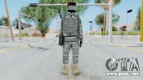 Acu Soldier 4 para GTA San Andreas tercera pantalla