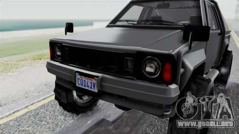 GTA 5 Karin Rebel 4x4 IVF para la vista superior GTA San Andreas