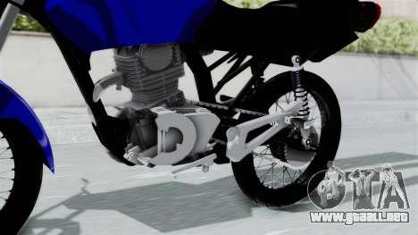 Honda CG Titan 2014 Stunt para la visión correcta GTA San Andreas