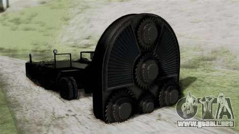 GTA 5 HVY Cutter para GTA San Andreas