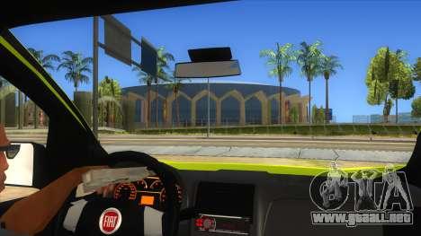 Fiat Fiorino para visión interna GTA San Andreas