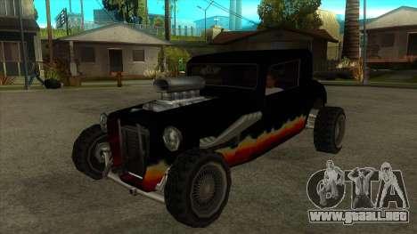 Diablos Hotknife para GTA San Andreas