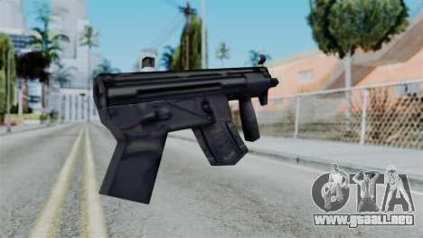 Vice City Beta MP5-K para GTA San Andreas segunda pantalla