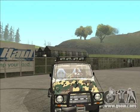 969М LuAZ Fuera de la Carretera para la visión correcta GTA San Andreas