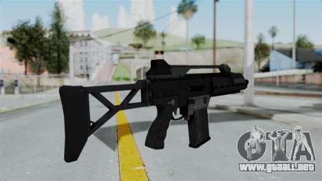 GTA 5 Special Carbine - Misterix 4 Weapons para GTA San Andreas segunda pantalla