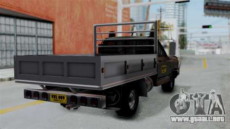 Ford F-150 Stylo Colombia para GTA San Andreas left