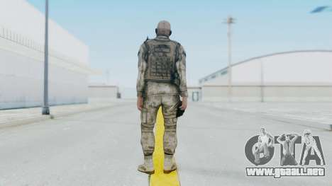 Crysis 2 US Soldier FaceB2 Bodygroup A para GTA San Andreas tercera pantalla