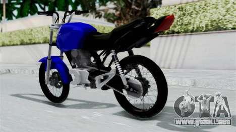 Honda CG Titan 2014 Stunt para GTA San Andreas left