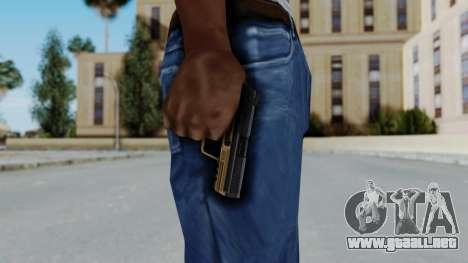 HK45 Sand Frame para GTA San Andreas tercera pantalla
