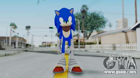 Sonic Boom para GTA San Andreas segunda pantalla