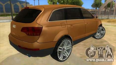 Audi Q7 para la visión correcta GTA San Andreas