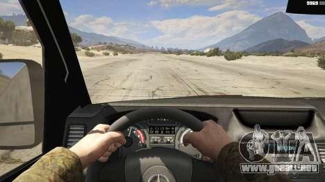 GTA 5 Mercedes-Benz Sprinter Worker Van vista trasera