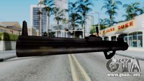 GTA 3 Rocket Launcher para GTA San Andreas segunda pantalla