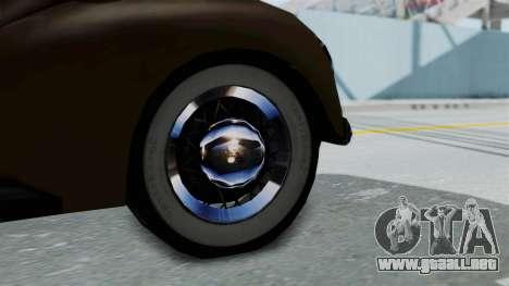 Lincoln Continental 1942 Mafia 2 v1 para la visión correcta GTA San Andreas