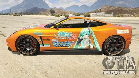 GTA 5 Hatsune Miku Massacro vista lateral izquierda
