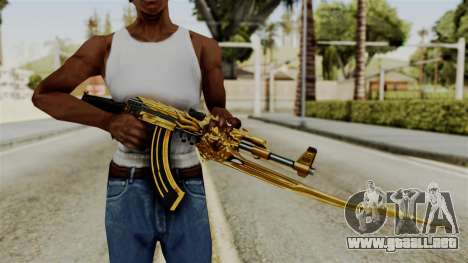 Dragon AK-47 para GTA San Andreas tercera pantalla