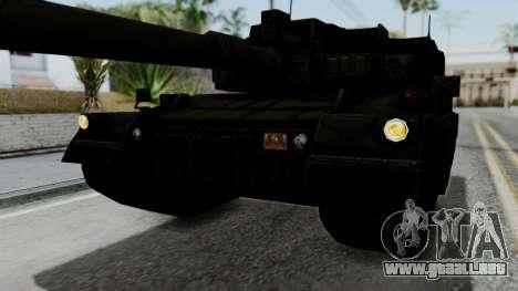 Point Blank Black Panther Woodland IVF para la vista superior GTA San Andreas