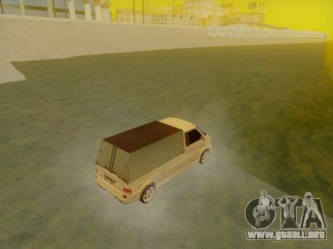 Volkswagen T4 Caravelle 35 Taza (1997) [Вездеход para GTA San Andreas left