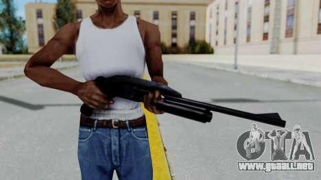 GTA 3 Shotgun para GTA San Andreas tercera pantalla
