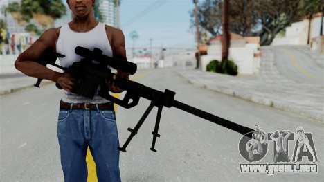 M2000 CheyTac Intervention para GTA San Andreas